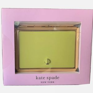 Kate Spade Spade Street Citron ID card holder